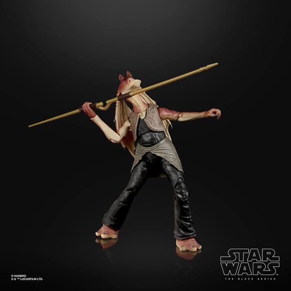 Star Wars Episode I Black Series figurine Deluxe 2021 Jar Jar Binks Hasbro