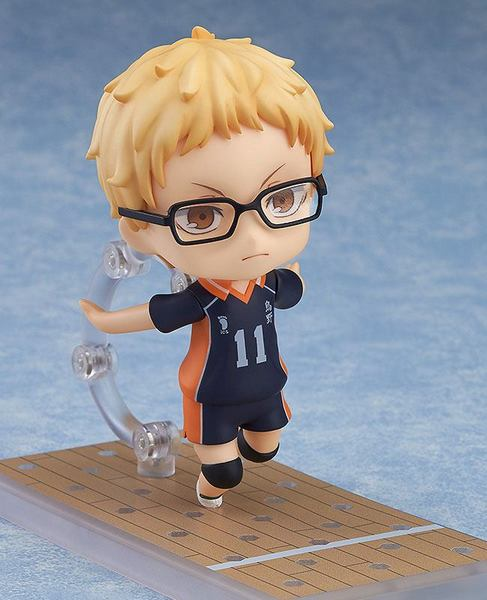 Haikyu!! Second Season figurine Nendoroid Kei Tsukishima Orange Rouge