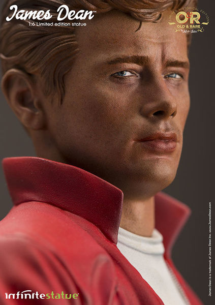 James Dean Old & Rare Infinite Statue