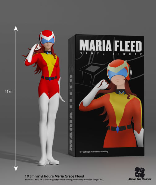 Goldorak UFO Robot Grendizer Phénicia Maria Freed 1/10 Vinyle Figurine Move The Game