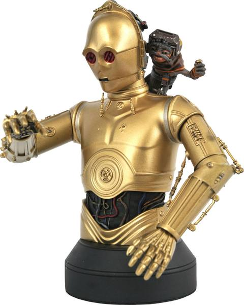 Star Wars Episode IX buste 1/6 C-3PO & Babu Frik Gentle Giant