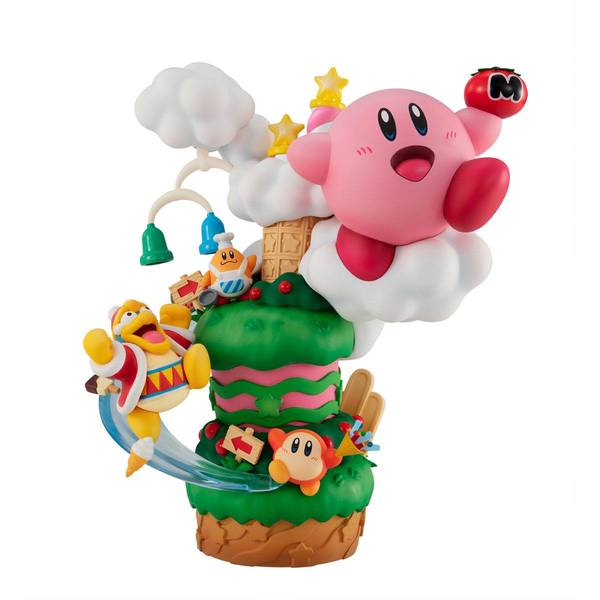 Kirby statuette PVC Kirby Super Star Gourmet Race Megahouse