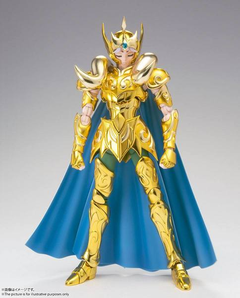Saint Seiya figurine Saint Cloth Myth Ex Aries Mu (Revival Ver.)  Bandai