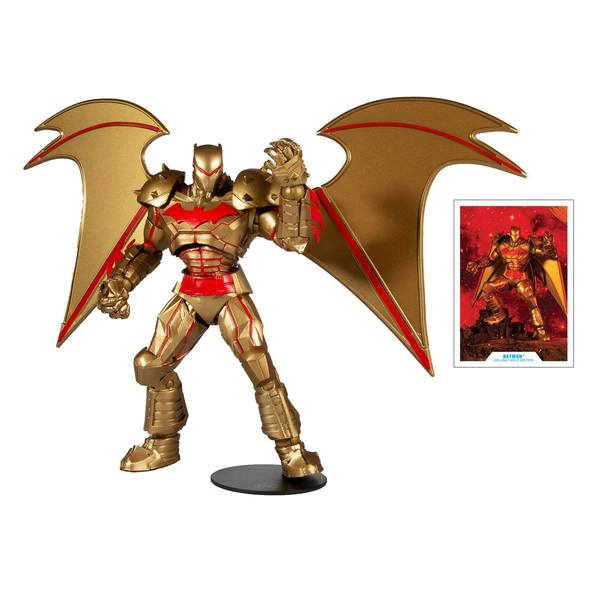 DC Multiverse figurine Batman Hellbat Suit (Gold Edition) McFarlane