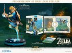 The Legend of Zelda Breath of the Wild statuette PVC Link Collector's Edition First 4 Figures
