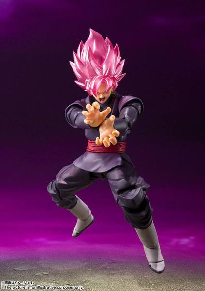 Dragon Ball Super figurine S.H. Figuarts Goku Black - Super Saiyan Rose Bandai