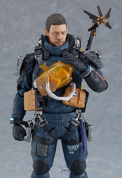 Death Stranding figurine Figma Sam Porter Bridges Good Smile Company