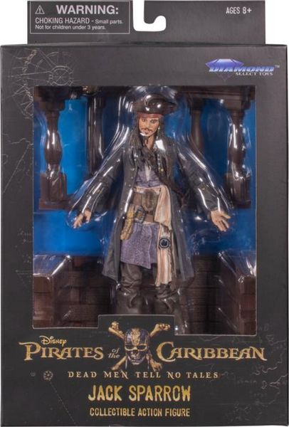 PIRATES OF THE CARIBBEAN Jack Sparrow AF action figure Diamond Select