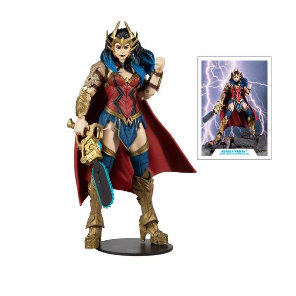DC Multiverse figurine Build A Wonder Woman McFarlane