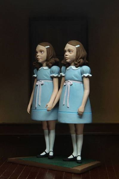 Shining pack 2 figurines The Grady Twins Neca