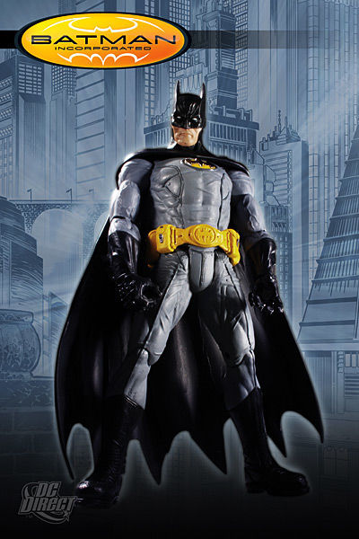 BATMAN Incorporated Figurine *4 serie complete Dc Direct