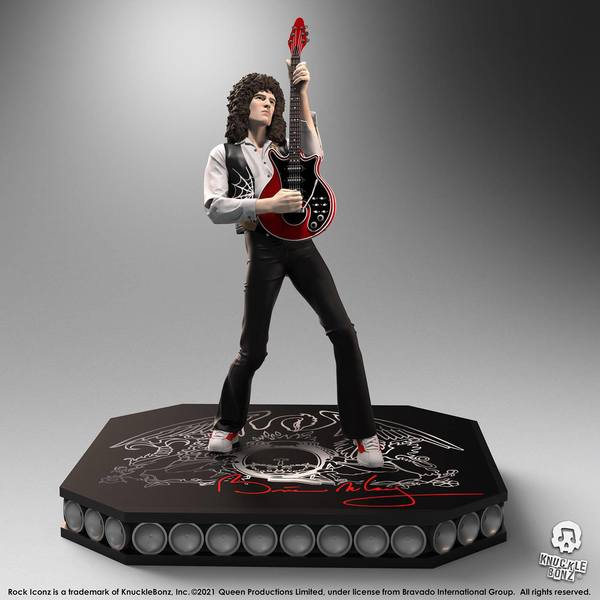 Queen statuette Rock Iconz Brian May Limited Edition Knucklebonz