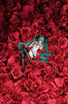Character Vocal Series statuette PVC 1/8 Miku Hatsune World is Mine Brown Frame Good Smile Company