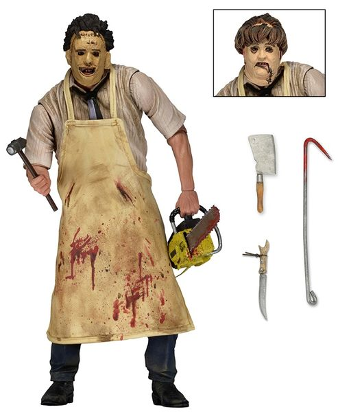 Massacre à la tronçonneuse figurine Retro 40th Anniversary Ultimate Leatherface Neca
