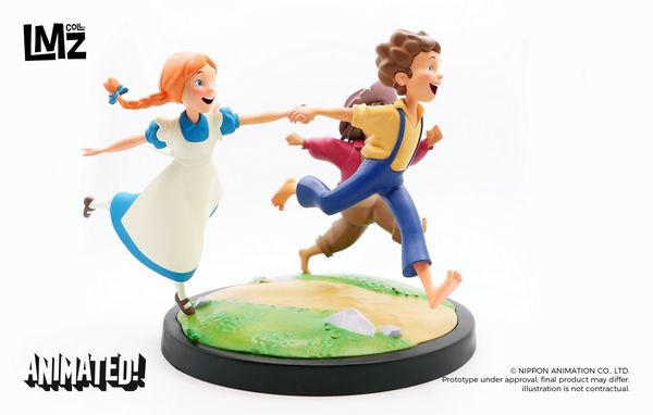 Tom  Sawyer : Tom, Becky et Huck Statue LMZ Collectibles