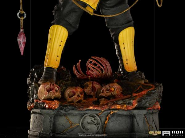 Mortal Kombat statuette 1/10 Art Scale Scorpion Iron Studios