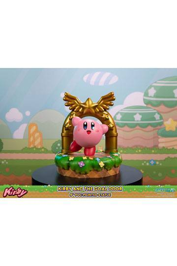 Kirby statuette PVC Kirby and the Goal Door 24 cm First 4 Figures F4F