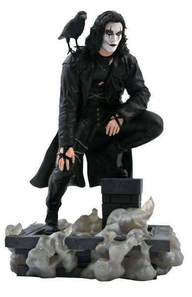 The Crow Movie Gallery statuette PVC Rooftop Diamond Select