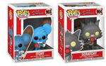 Simpsons 2 Figurine POP! 903 &904 Animation Vinyl pack Itchy & Scratchy Funko