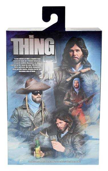 The Thing figurine Ultimate MacReady (Outpost 31)  NECA