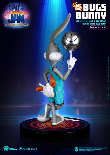 Space Jam A New Legacy statuette Master Craft Bugs Bunny Beast Kingdom