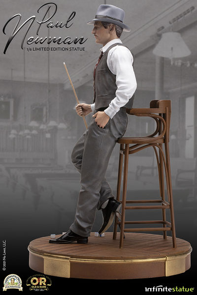 Paul Newman The Sting L'arnaque Old & Rare 1/6 Statue Infinite