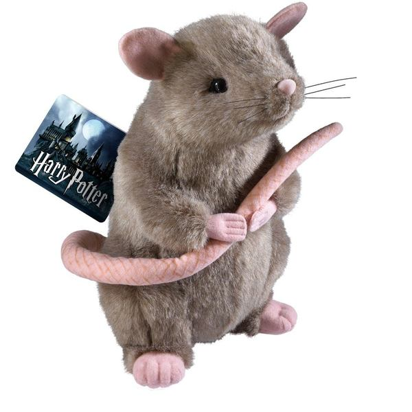 Harry Potter peluche Scabbers Noble Collection