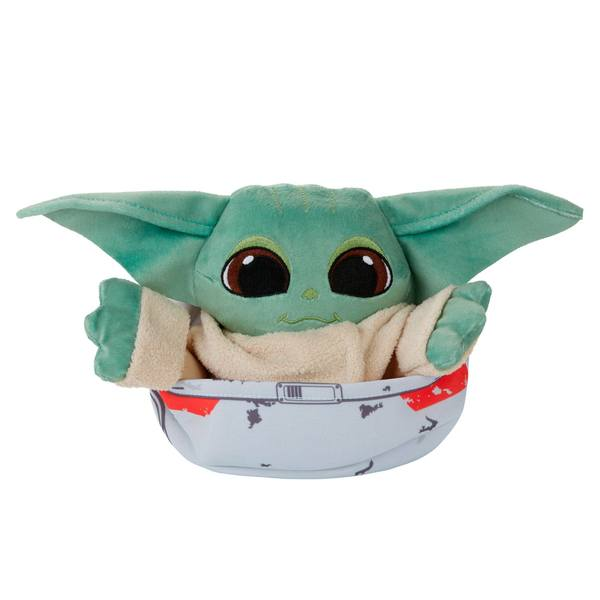 Star Wars The Mandalorian The Bounty Collection peluche 3 en 1 The Child Hideaway Hover-Pram Hasbro