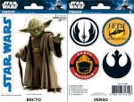 STAR WARS YODA JEDI MINI STICKERS ABYSTYLE