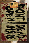 Walking Dead paillasson Don't Open Dead Inside 40 x 60 cm
