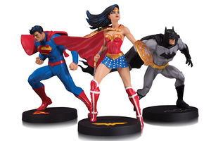 DC Designer Series pack 3 statues Trinity by Jim Lee Batman Superman Wonder Woman DC Collectibles