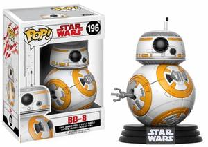 Star Wars Episode VIII POP! Vinyl Bobble Head BB-8 Funko