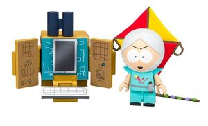 South Park Wave 1 jeux de construction The Human Kite Kyle with Supercomputer McFarlane