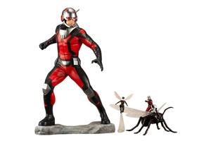 Marvel Comics statue Avengers Series ARTFX+ Astonishing Ant-Man & Wasp Kotobukiya