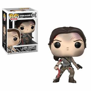 Tomb Raider POP! Games 333 Figurine Lara Croft Funko