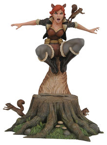 Marvel Comic Gallery statue Squirrel Girl Diamond Select