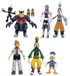 Kingdom Hearts Select série 2 assortiment packs figurines Diamond Select