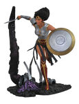 DC Comic Gallery statue Dark Knights Metal Wonder Woman Diamond Select