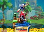 Sonic Generations diorama Sonic vs Chopper F4F First 4 Figures