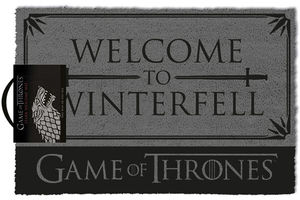 Game oh thrones paillasson Welcome to Winterfell 40 x 57 cm Stark
