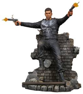 Punisher TV Series Marvel Gallery statue Punisher Version 2 Frank Castle Diamond Select