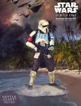 Star Wars Rogue One statue Collectors Gallery 1/8 Shoretrooper Gentle Giant