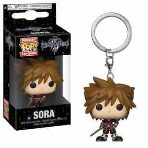 Kingdom Hearts 3 porte-clés Pocket POP! Vinyl Sora