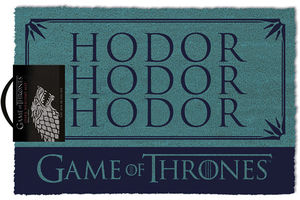 Game of Thrones paillasson Hodor 40 x 60 cm