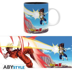 Dragon Ball Z mug 320 ml Goku VS Vegeta Abystyle