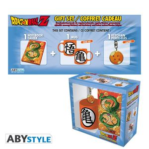 Dragon Ball Z Pack Mug 320ml + porte clés + Cahier Shenron Abystyle
