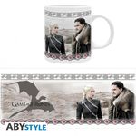 Game Of Thrones mug 320 ml Jon Snow & Daenerys Targaryen Abystyle