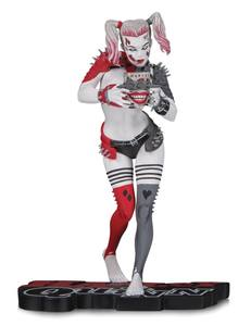 DC Comics Red, White & Black statue Harley Quinn by Greg Horn DC Collectibles Batman