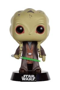 Star Wars POP! Vinyl Bobble Head Kit Fisto Limited Edition 9 cm