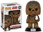 Star Wars Episode VIII POP! 195 Bobble Head Chewbacca & Porg Funko